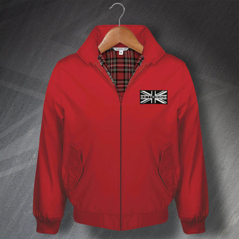 Kettering Classic Harrington Jacket with Embroidered Union Jack Badge