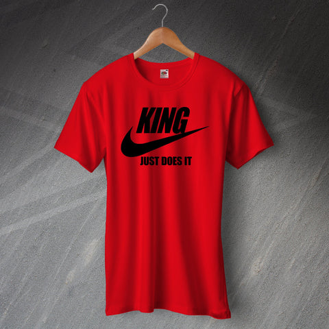 Bournemouth Football T-Shirt King Just Does It