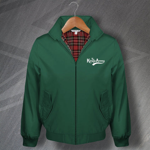 The Kings Arms Pub Harrington Jacket Embroidered