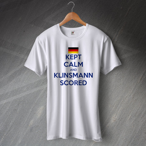 Tottenham Football T-Shirt Kept Calm and Klinsmann Scored