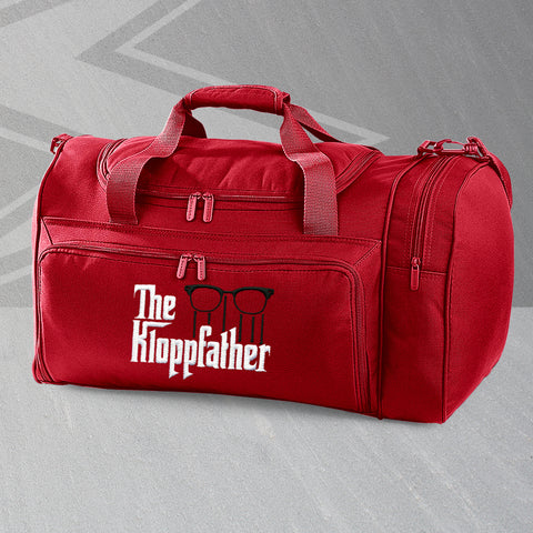Liverpool Football Holdall Embroidered The Kloppfather