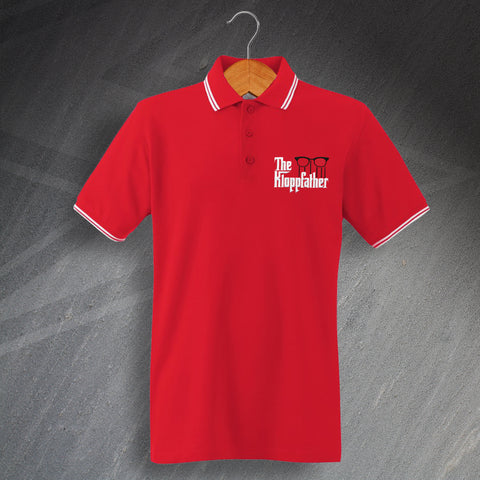Liverpool Football Polo Shirt Embroidered Tipped The Kloppfather