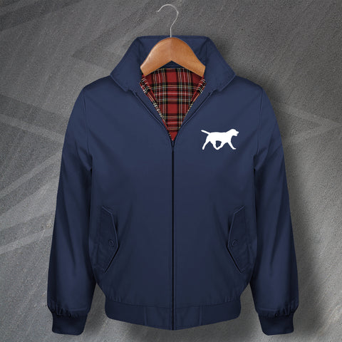 Labrador Retriever Embroidered Classic Harrington Jacket