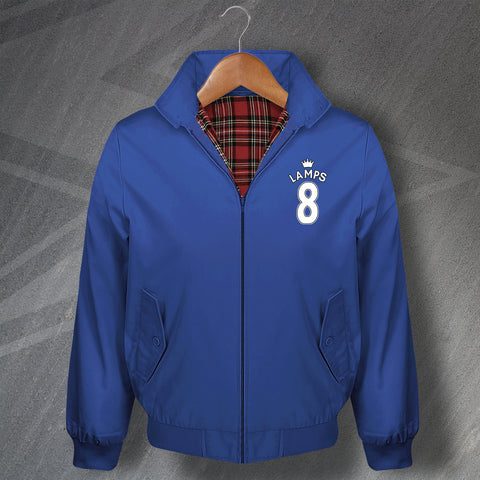 Lamps 8 Football Harrington Jacket Embroidered