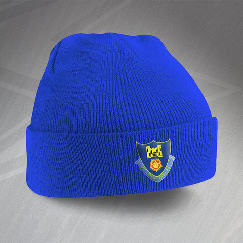 Lancaster Football Beanie Hat Embroidered 1937
