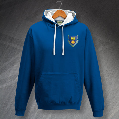 Lancaster Football Hoodie Embroidered Contrast 1937