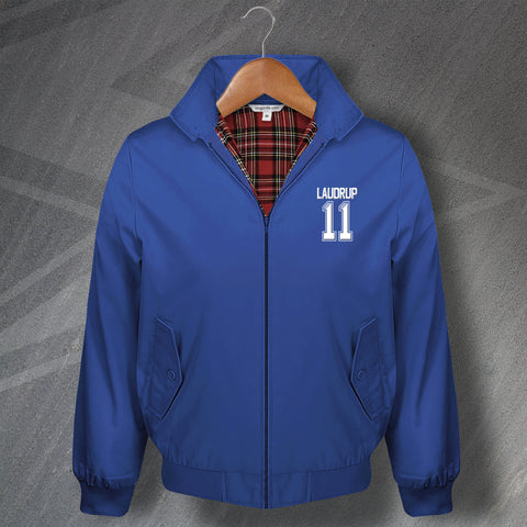 Laudrup 11 Football Harrington Jacket Embroidered