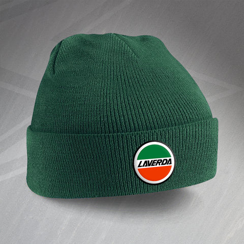 Laverda Beanie Hat Embroidered