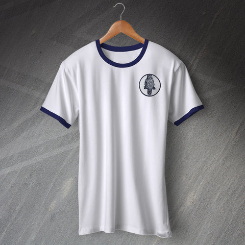 Leeds Football Shirt Embroidered Ringer 1964