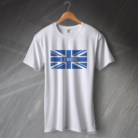 Leeds Football T-Shirt Union Jack