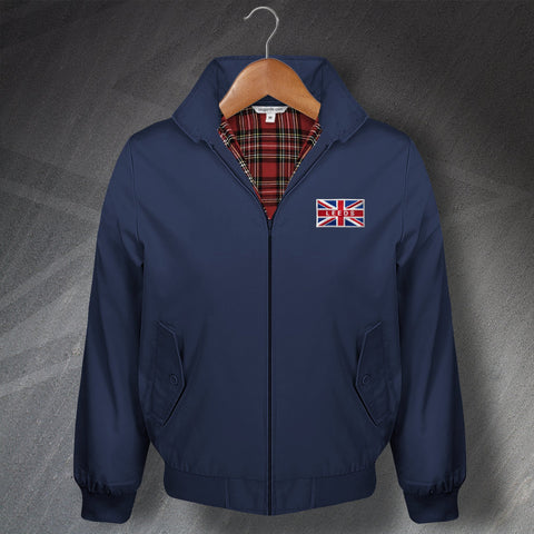 Leeds Harrington Jacket Embroidered Union Jack