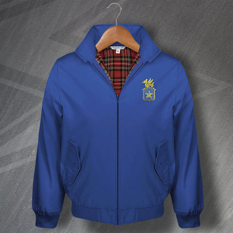 Leicester Football Harrington Jacket Embroidered Leicester Fosse FC