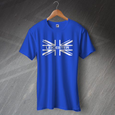 Leicester Football T-Shirt Union Jack