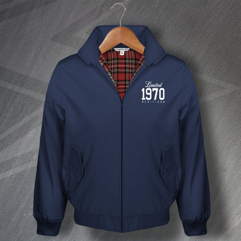 1970 Harrington Jacket Embroidered Limited 1970 Edition