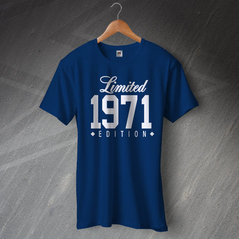 1971 T-Shirt Limited 1971 Edition