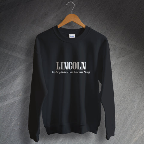 Lincoln Sweatshirt Everyone's Favourite City