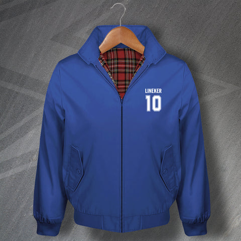 Lineker 10 Football Harrington Jacket Embroidered