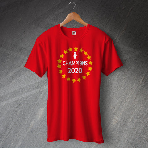 Liverpool Football T-Shirt Champ19ns 2020