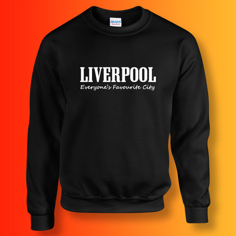 Liverpool Sweater with Everyone's Favourite City Design