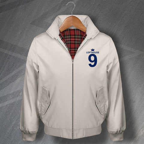 Lofthouse 9 Football Harrington Jacket Embroidered
