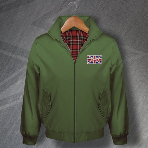 London Union Jack Flag Harrington Jacket