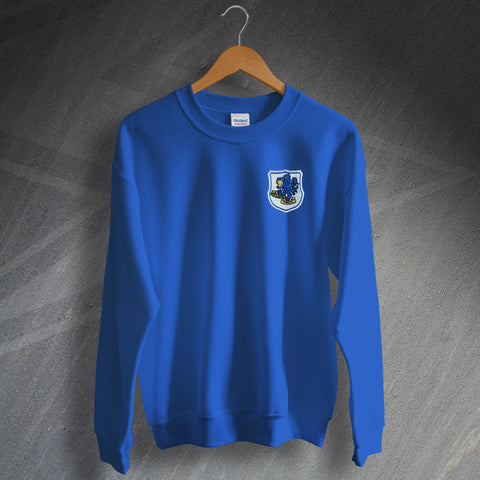 Macclesfield Football Sweatshirt Embroidered 1968