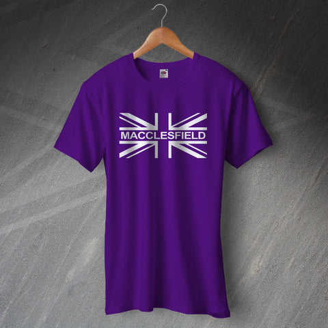 Macclesfield T-Shirt Union Jack