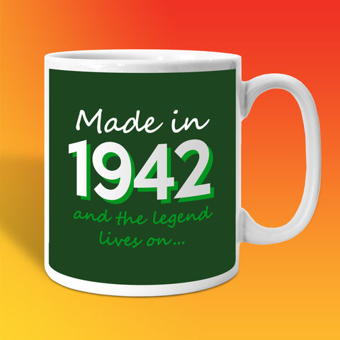 Made In 1942 and The Legend Lives On Bottle Green