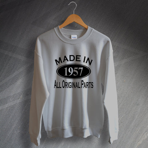 1957 Sweatshirt Made in 1957 All Original Parts