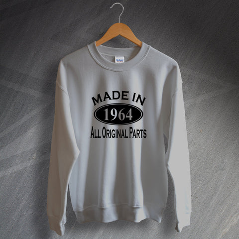 1964 Sweatshirt Made in 1964 All Original Parts