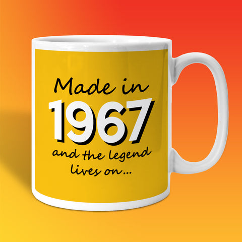 Made In 1967 and The Legend Lives On Sunflower