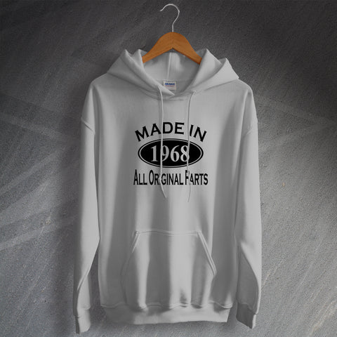 Made In 1968 All Original Parts Unisex Hoodie