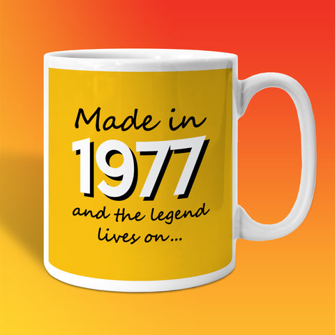 Made In 1977 and The Legend Lives On Sunflower