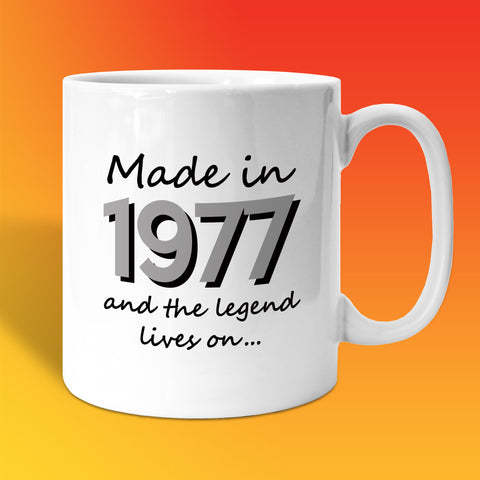 Made In 1977 and The Legend Lives On White