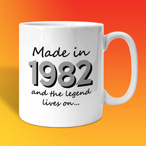 Made In 1982 and The Legend Lives On White