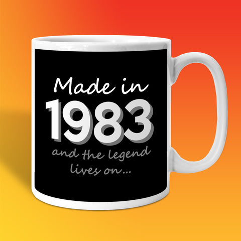 Made In 1983 and The Legend Lives On Black