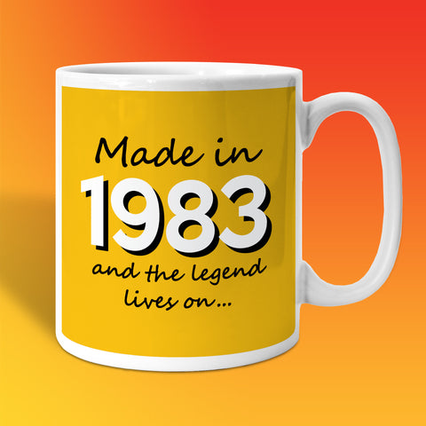 Made In 1983 and The Legend Lives On Sunflower