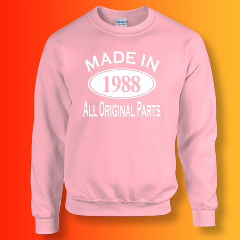 Made In 1988 All Original Parts Sweater Light Pink