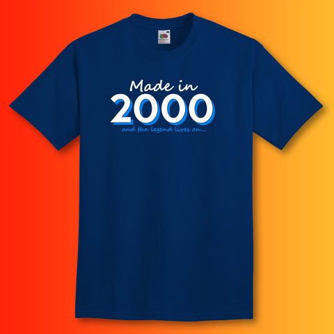 Made In 2000 and The Legend Lives On Unisex T-Shirt