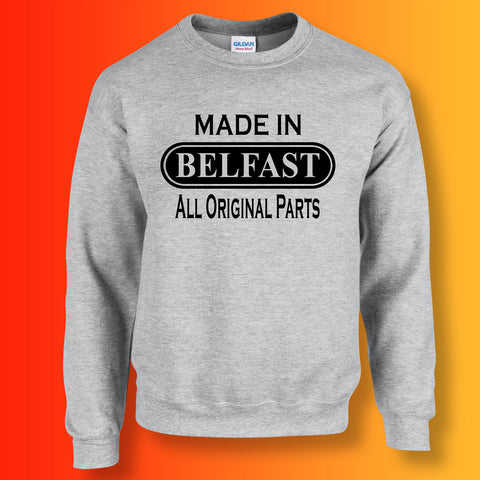 Made In Belfast All Original Parts Unisex Sweater