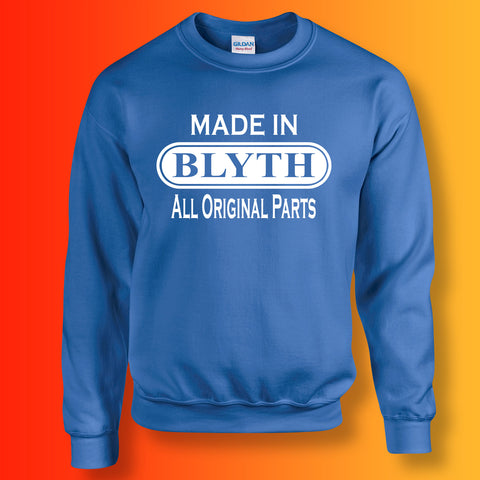 Made In Blyth All Original Parts Unisex Sweater