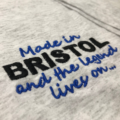 Made in Bristol The Legend Lives On T-Shirt