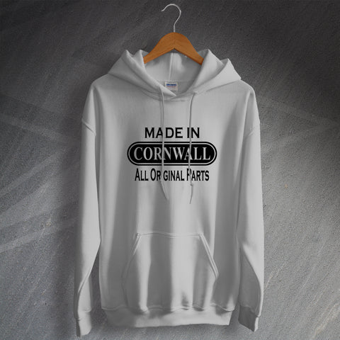 Cornwall Hoodie Made in Cornwall All Original Parts