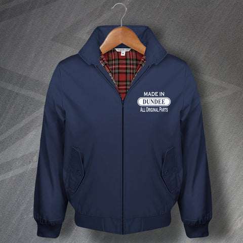 Made in Dundee All Original Parts Embroidered Classic Harrington Jacket
