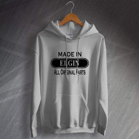 Elgin Hoodie Made in Elgin All Original Parts
