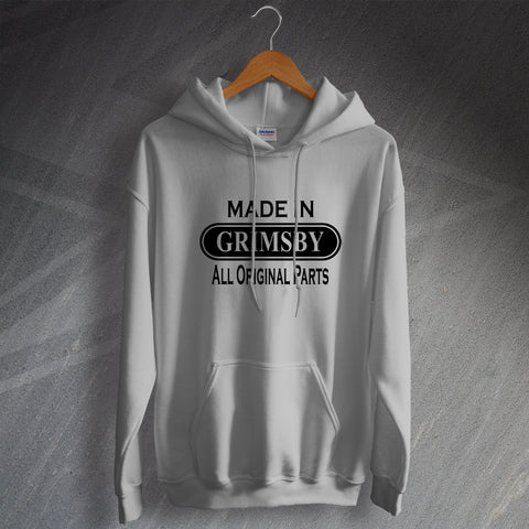 Grimsby Hoodie Made in Grimsby All Original Parts