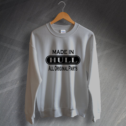 Hull Sweatshirt Made in Hull All Original Parts