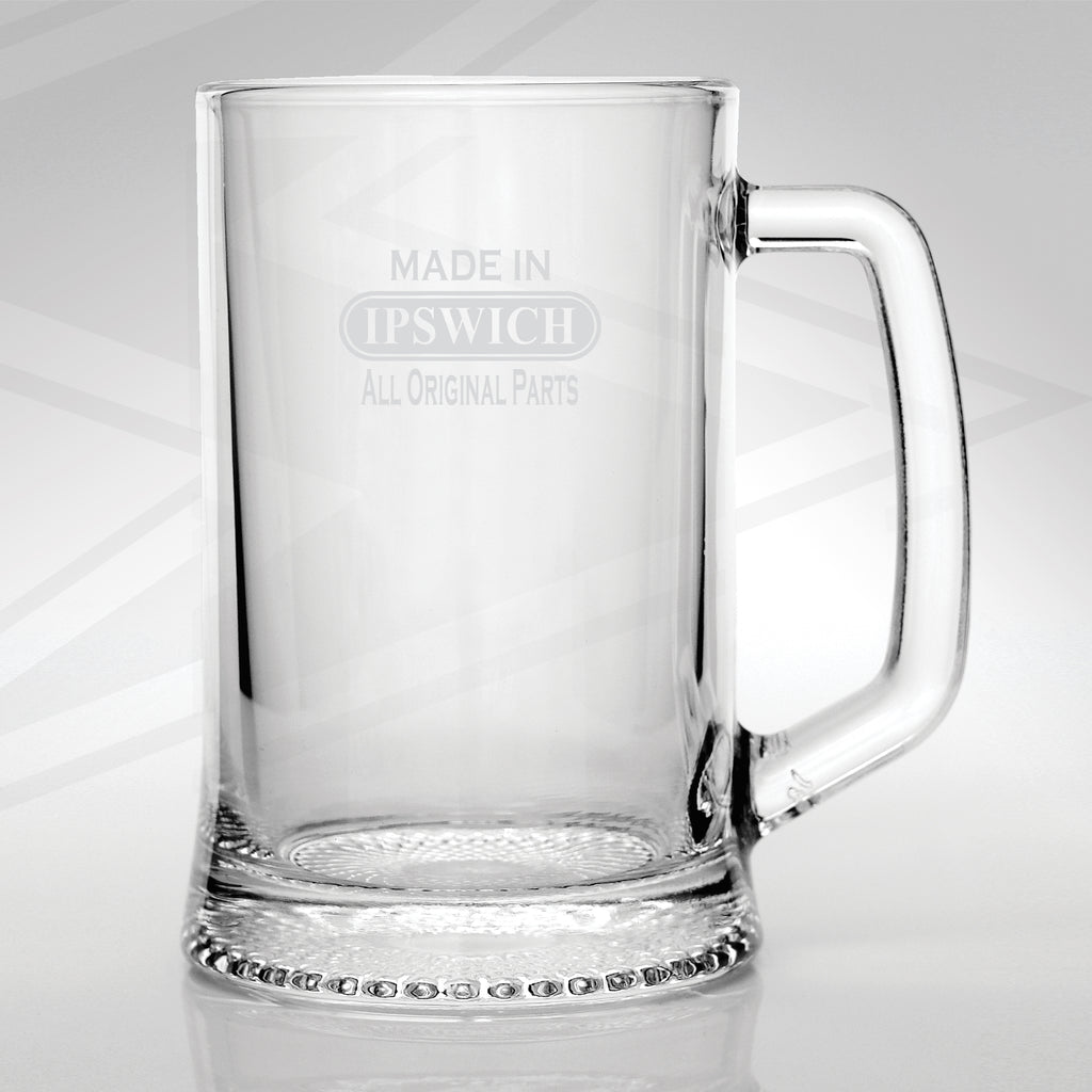 Made in Ipswich All Original Parts Glass Tankard