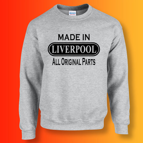 Made In Liverpool All Original Parts Unisex Sweater