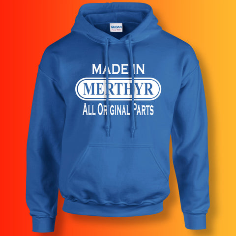 Made In Merthyr All Original Parts Unisex Hoodie